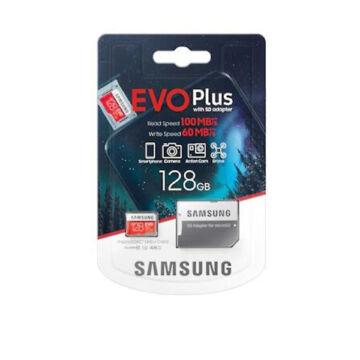 Samsung micro SDXC  128GB Samsung EVO Plus + SD adapter