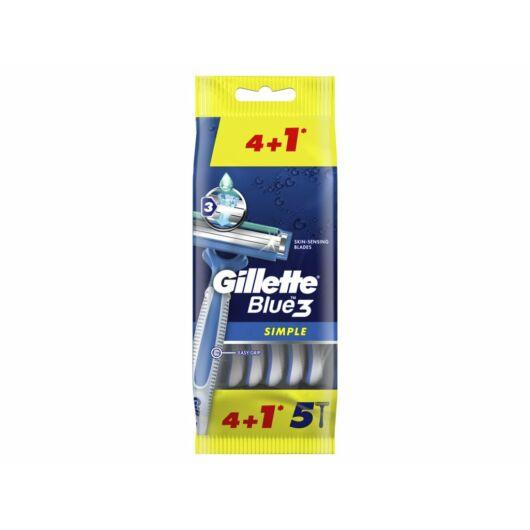 Gillette Blue3 eldobható borotva 4+1