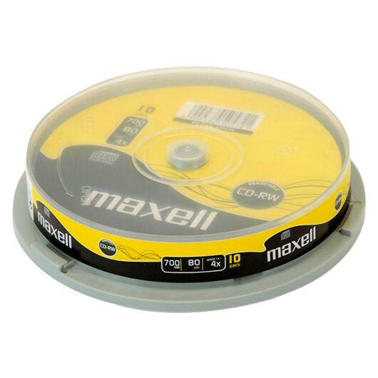 Maxell CD-RW 12X Lemez, Cake 10