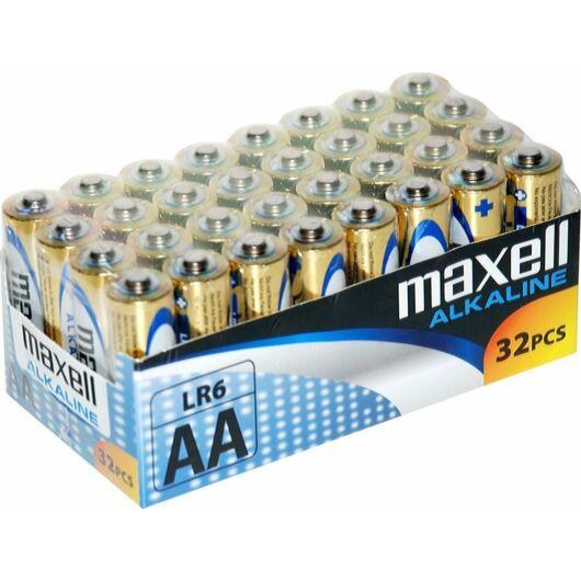 Maxell AA Méretü 1,5V Alkáli Elem Lr06-32 Pack Shrink - 790261.04.CN