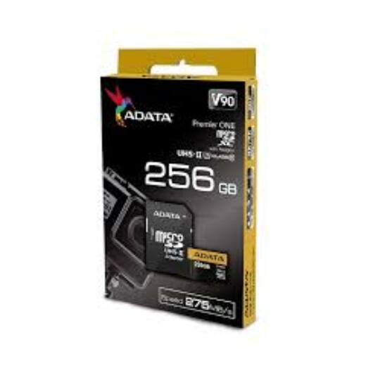 Adata Premier ONE 256GB Micro SDXC [275/155MBps] Adapter