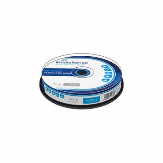 Mediarange BD-R 25 gB 6X Blu-Ray Lemez- Cake (10) - MR499