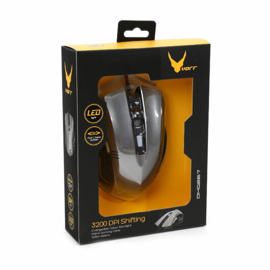 43213 Omega Varr OM-267 Gaming Egér 1200-3200 DPI 6D