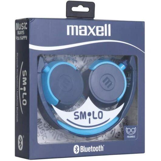 304016.00.CN MAXELL SMILO HP-BT400 Bluetooth Fülhallgató Kék