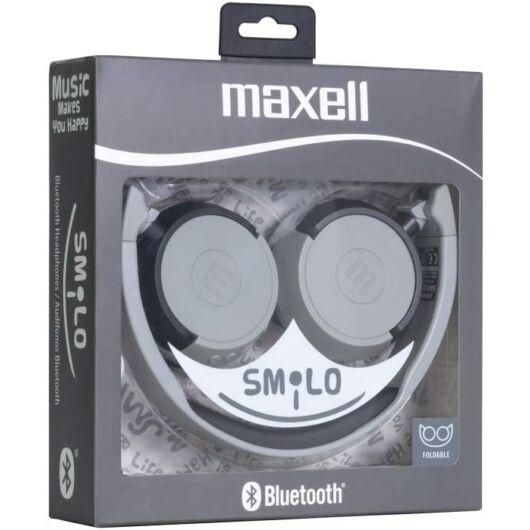 304015.00.CN MAXELL SMILO HP-BT400 Bluetooth Fülhallgató Szürke