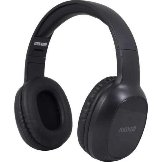304024.00.CN Maxell B13-HD1 Bass Bluetooth Fejhallgató - Fekete