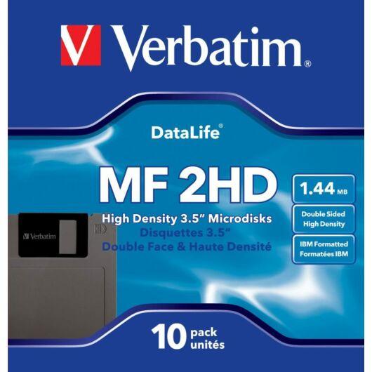 87410 Verbatim MF2HD [1,44Mb] Floppy Lemez 10db