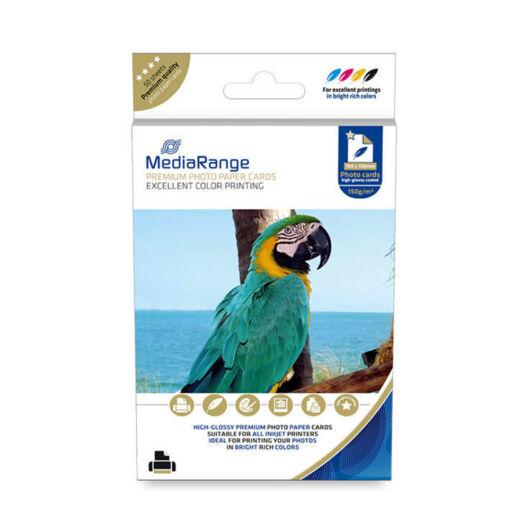 MRINK115 Mediarange Magasfényű Fotópapír [100x150mm] 150g (50)