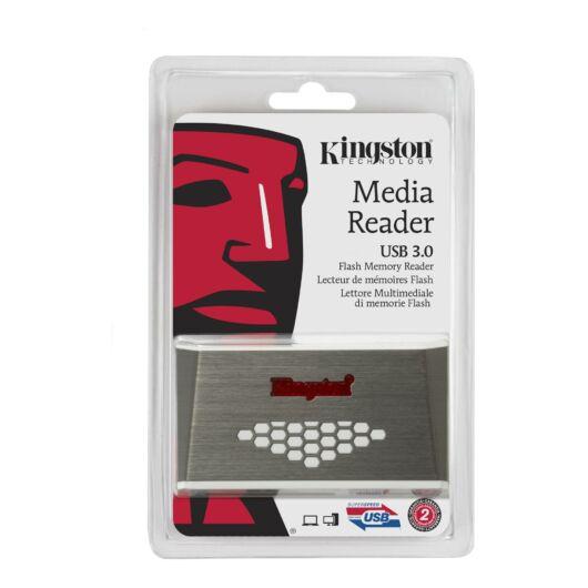 Kingston USB 3.0 Nagy Sebességű Memóriakártya Olvasó Fcr-Hs4 - FCR_HS4