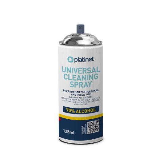 45315 Platinet univerzális tisztító spray 70% alkohol tartalommal 125ml