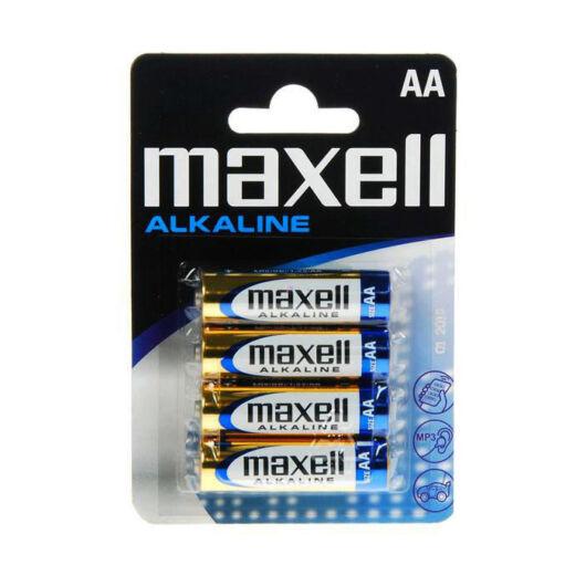Maxell AA Méretű 1,5V Alkáli Ceruza Elem Lr06-4Blister - 723758_04_CN
