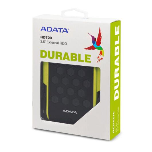 "AHD720-2TU31-CGN Adata HD720 2TB HDD 2,5""  IP68 Külső Merevlemez [USB 3.1] Zöld"