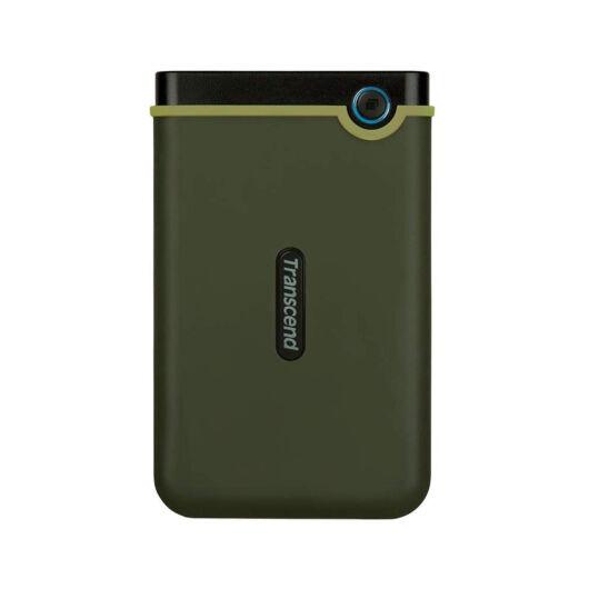 """TS1TSJ25M3G Transcend  Storejet 1TB HDD Külső Merevlemez 2.5"""" [USB 3.0] Szürke"""