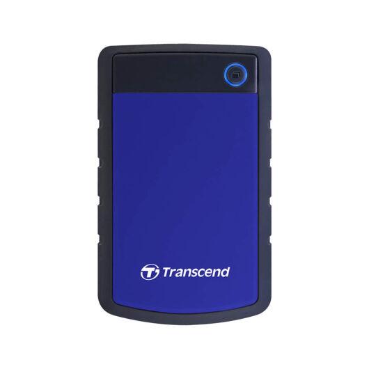 """TS4TSJ25H3B Transcend Storejet 4TB HDD Külső Merevlemez 2.5"""" [USB 3.0] Kék"""