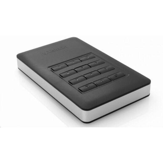 "53403 Verbatim 2TB HDD 2,5"" Külső HDD AES 256 PIN kóddal [USB 3.0]"