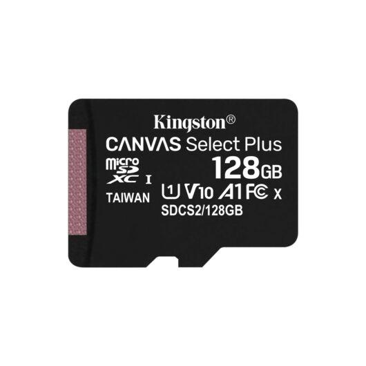 Kingston Canvas Select Plus 128GB microSD memóriakártya