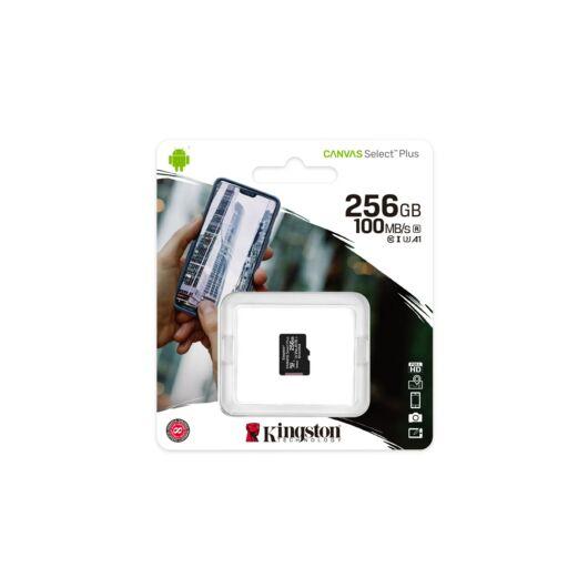Kingston Canvas Select Plus 256GB microSD memóriakártya