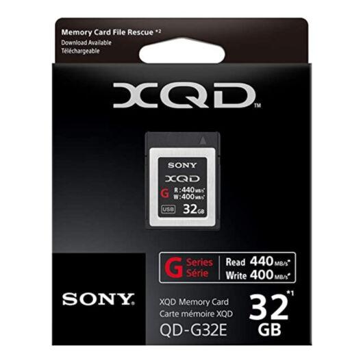 QDG32E SONY G Series 32GB XQD 400 MB/s memóriakártya
