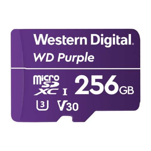 WDD256G1P0A WD 256GB Purple microSDXC UHS-I U3 [100MB/s]