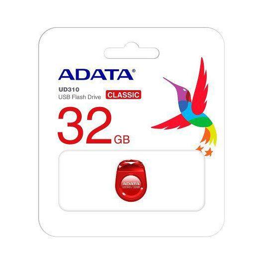 Adata UD310 32GB Pendrive USB 2.0 - Piros (AUD310-32G-RRD) - AUD310_32G_RRD