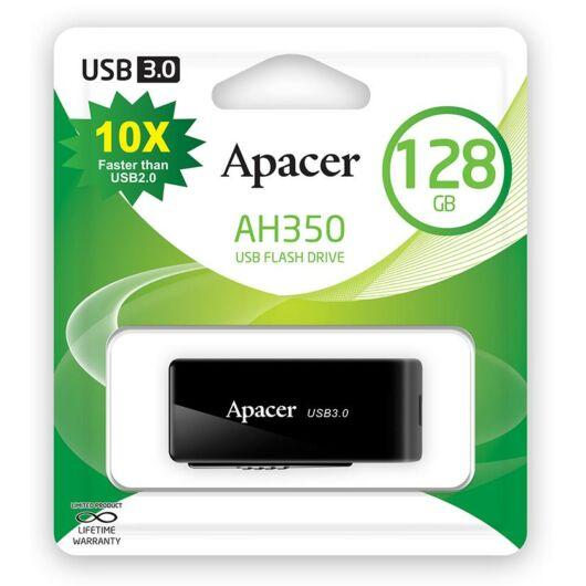 APACER AH350  PENDRIVE 128GB USB 3.1 Fekete