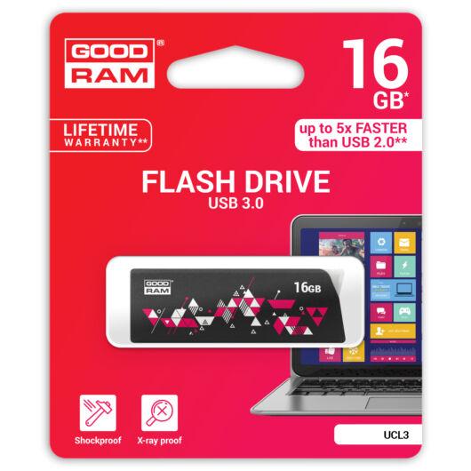 GOODRAM UCL3 PENDRIVE 16GB USB 3.0 Mintás