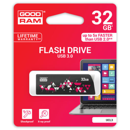 GOODRAM UCL3 PENDRIVE 32GB USB 3.0 Mintás