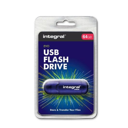 INFD16GBEVOBL INTEGRAL EVO PENDRIVE 16GB USB 2.0 Kék
