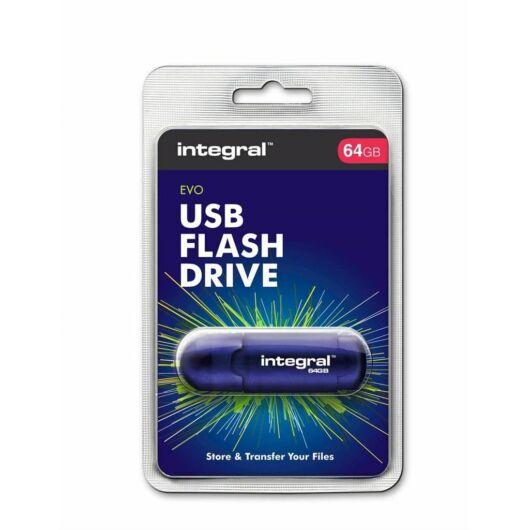 INFD64GBEVOBL INTEGRAL EVO PENDRIVE 64GB USB 2.0 Kék