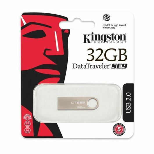 Kingston DataTraveler SE9 32GB Pendrive USB 2.0 (DTSE9H/32GB) - DTSE9H_32GB