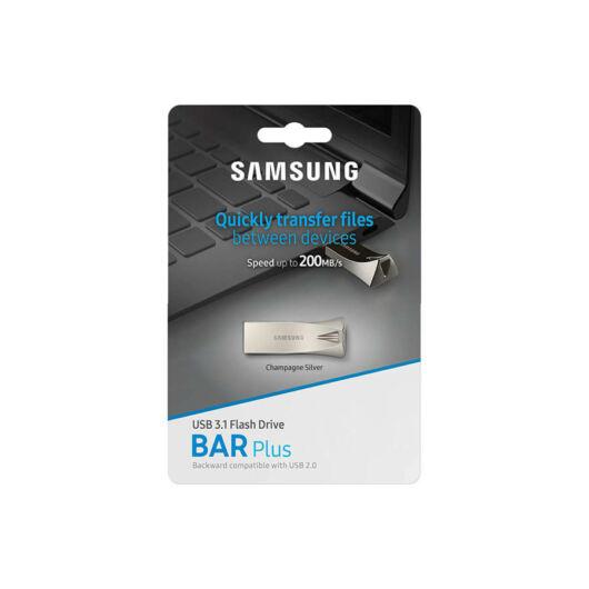 Samsung 32GB Bar Plus USB 3.1 Pendrive - Pezsgőszín (200MB/s) - MUF-32BE3/EU
