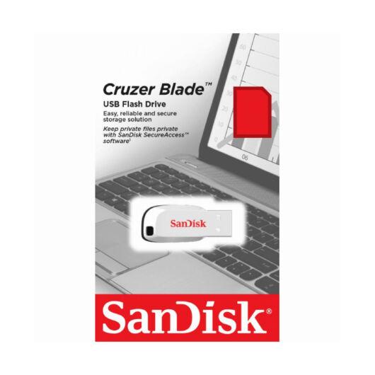SANDISK CRUZER BLADE PENDRIVE 16GB USB 2.0 Fehér
