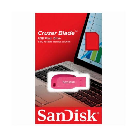 SANDISK CRUZER BLADE PENDRIVE 16GB USB 2.0 Pink