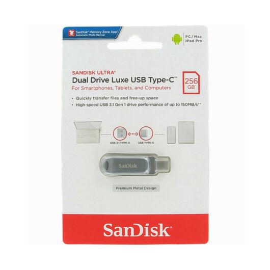 SDDDC4-256G-G46 SANDISK ULTRA DUAL DRIVE LUXE PENDRIVE 256GB USB Type-C