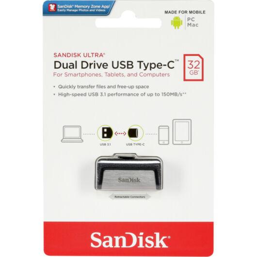 SanDisk Ultra USB Type-C 32GB Pendrive (150 Mb/S) (SDDDC2-032G-G46) - SDDDC2_032G_G46