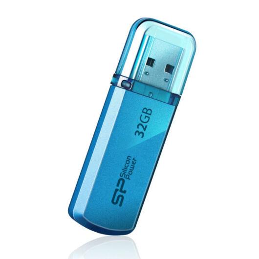 SP032GBUF2101V1B Silicon Power 32GB Helios Pendrive 101 [USB 2.0] Kék