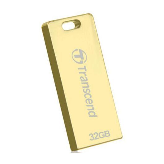 Transcend 32GB Jetflash T3 pendrive [USB 2.0] Arany TS32GJFT3G