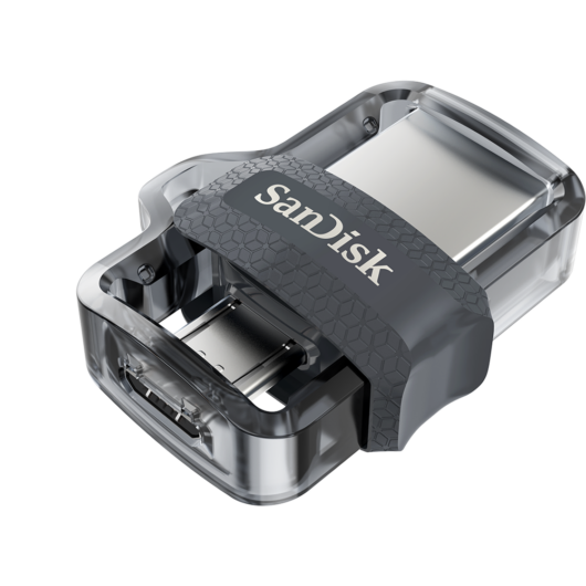 SanDisk Ultra Dual Drive M3.0 256GB Pendrive [USB 3.0/Micro USB]
