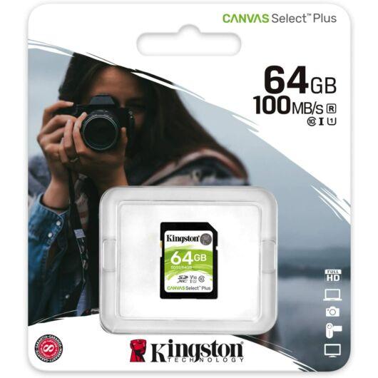 Kingston Canvas Select Plus (U1) 64GB SDXC V10 CL10  [100 MBps] SDS2/64GB