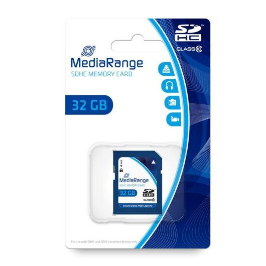 Mediarange 32GB SDHC Memóriakártya Class 10 - MR964
