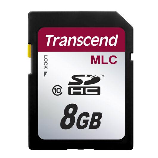 TS8GSDHC10M Transcend 8GB MLC Industrial SDHC Memóriakártya Class 10