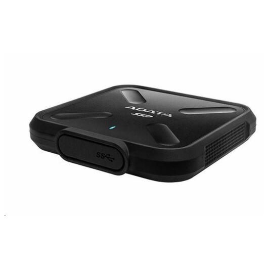 ASD700-256GU31-CBK Adata 256GB Külső SSD SD700 USB 3.1 Fekete