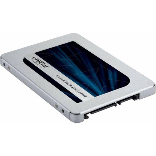 """Crucial MX500 500GB SSD Meghajtó [2.5""""/SATA3]"""