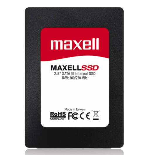 860122 Maxell 240 GB belső SSD meghajtó [300/270 MBps]