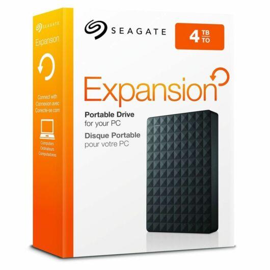 "Seagate Expansion Port 4TB külső merevlemez [2.5"", USB 3.0] STEA4000400"