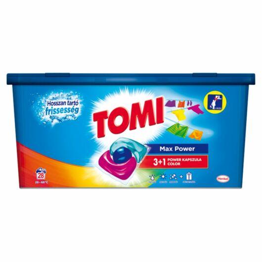Tomi Max Power mosókapszula színes ruhákhoz, 28 db