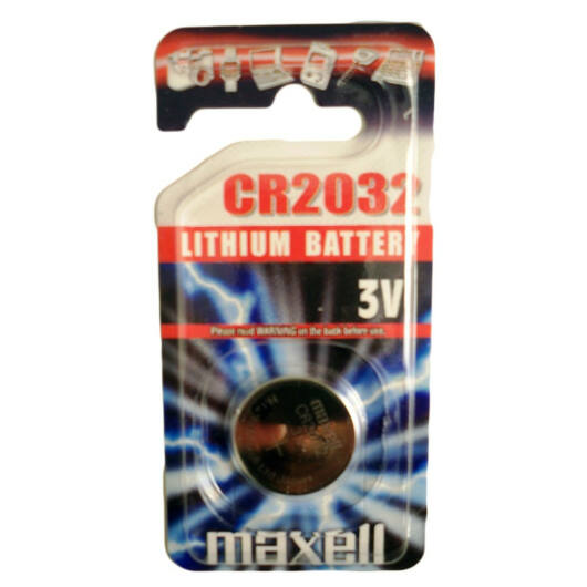 Maxell Litium Gomb Elem CR2032 (1) - 18585300