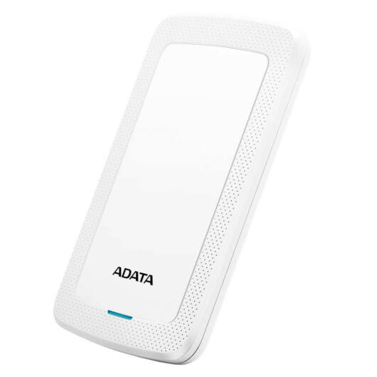 ADATA HV300 külső HDD 1TB 2.5 USB 3.1, fehér - AHV300-1TU31-CWH