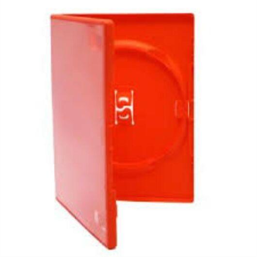 DVD Box Single 14 mm Piros Amaray - AMA02313KA