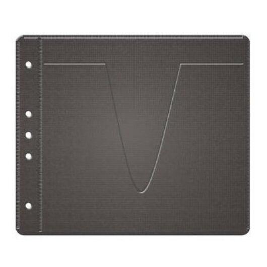 MediaRange Lefûzhető CD tasak fekete 50db - BOX61
